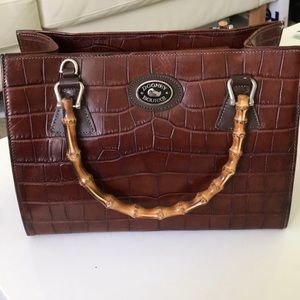 Brown & Bamboo Dooney & Burke Purse